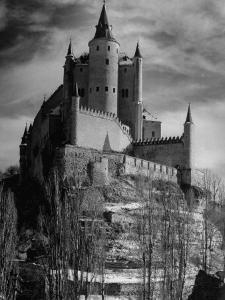 Exterior of Segovia Castle by Dmitri Kessel
