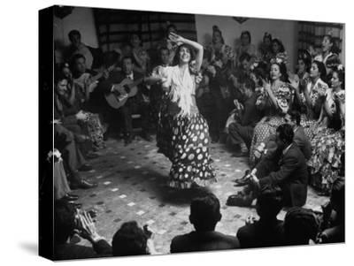 Gypsy Dancer Performing