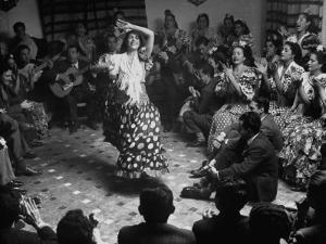 Gypsy Dancer Performing by Dmitri Kessel