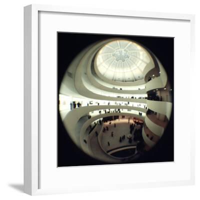 Interior Views of the Frank Lloyd Wright Designed, Solomon R. Guggenheim Museum