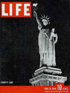 Liberty's Light, June 26, 1944 by Dmitri Kessel