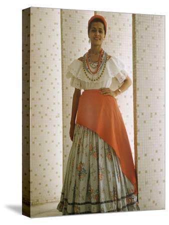 Portrait Bahiana Woman in Costume