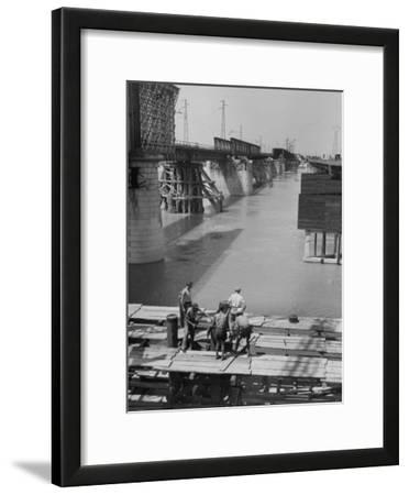 Reconstruction of Bridge over the Po River