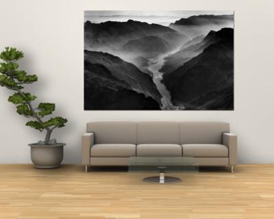 "The Yangtze River Passing Through the Wushan, or ""Magic Mountain"", Gorge in Szechwan Province"