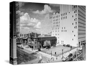 View of Houston, Texas by Dmitri Kessel