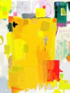 Abstract Composition Which Consists of a Plurality of Colored Layers by Dmitriip
