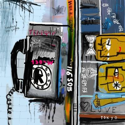 Graffiti with Telephone