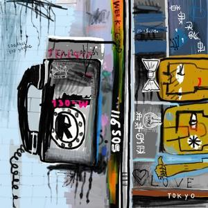 Graffiti with Telephone by Dmitriip