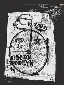Symbolic Image of Sports Bike Graffiti by Dmitriip