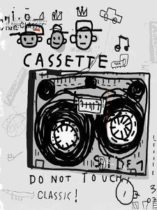The Symbolic Image of an Old Audio Cassette by Dmitriip