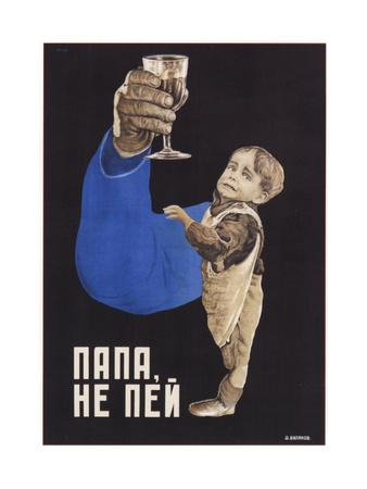 Dad, Do Not Drink, 1929