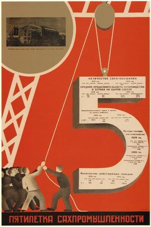 The Five-Year Plan of the Sugar Industry, 1931
