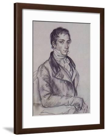 Dmitry Venevitinov, Russian Poet--Framed Giclee Print