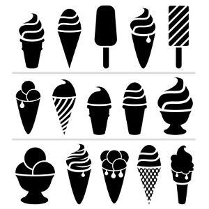 Ice-Cream Icons by dmstudio