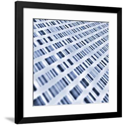 DNA Sequences-PASIEKA-Framed Photographic Print