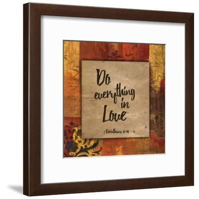 Do Everything in Love_Autumn Blooms-Smith Haynes-Framed Art Print