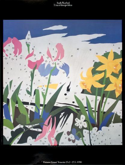 Do It Yourself Flowers Art Print By Andy Warhol Artcom