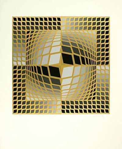 Do-Re-Victor Vasarely-Limited Edition