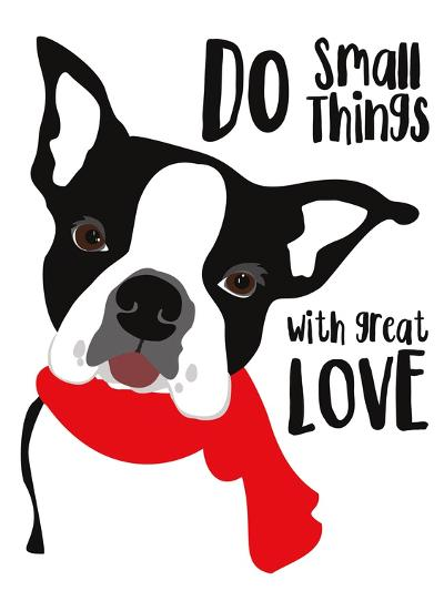 Do Small Things with Great Love-Ginger Oliphant-Art Print