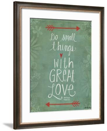 Do Small Things-Katie Doucette-Framed Art Print