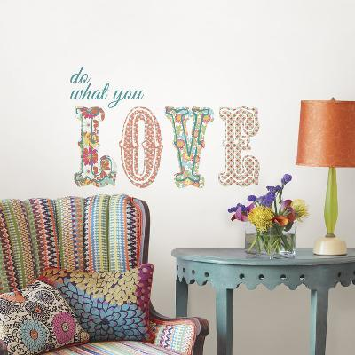 Do What You Love Quote--Wall Decal