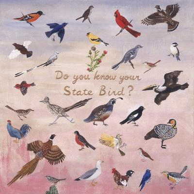 Do You Know Your State Bird?, 1996-Joe Heaps Nelson-Giclee Print
