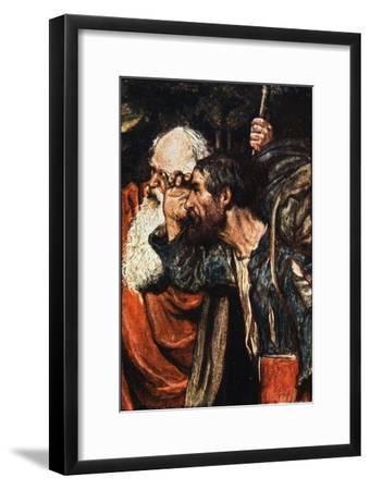 Do You See Yonder Wicket-Gate , The Pilgrim's Progress Macgregor, Pub.Jack, 1907-John Byam Shaw-Framed Giclee Print
