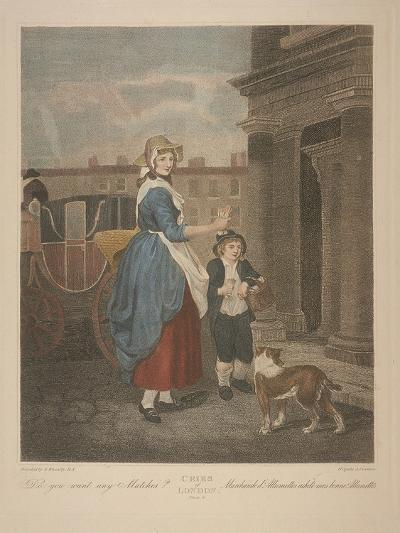 Do You Want Any Matches?, Cries of London, C1870-Francis Wheatley-Giclee Print