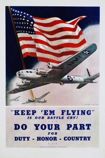 Do Your Part Poster-Dan V. Smith and Albro F. Downe-Giclee Print