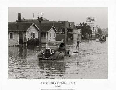After the Storm, 1938 by Doc Ball