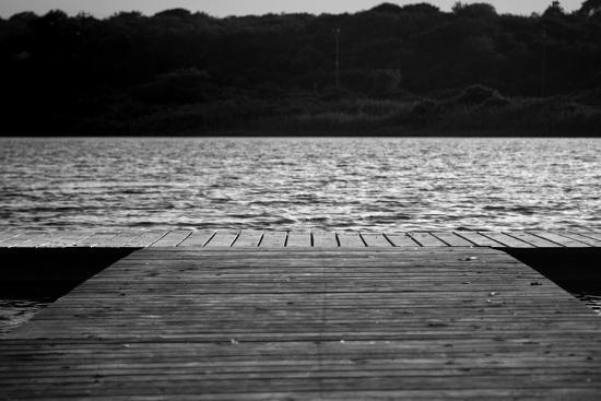 Dock in Montauk NY--Photo