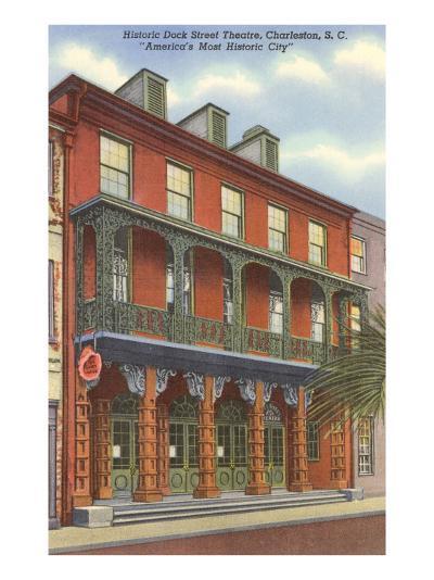 Dock Street Theatre, Charleston, South Carolina--Art Print