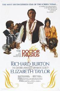Doctor Faustus, US poster, Richard Burton, Elizabeth Taylor, 1967
