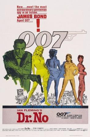 """Doctor No, 1962, """"Dr. No"""" Directed by Terence Young"""
