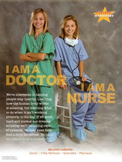 Doctor & Nurse--Art Print