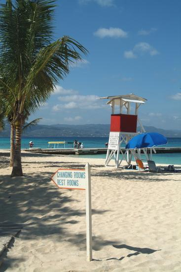 Doctor's Cave Beach, Montego Bay, Jamaica, West Indies, Caribbean, Central America-Ethel Davies-Photographic Print