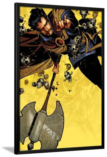 Doctor Strange #1 Cover Featuring Dr. Strange-Chris Bachalo-Lamina Framed Poster