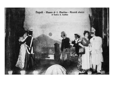 Document n° 3 provenant du carnet MP 1866 (Naples, Museo San Martino, ricordi storici, il teatro--Giclee Print