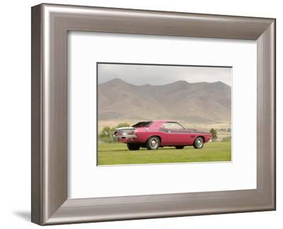Dodge Challenger TA 1970-Simon Clay-Framed Photographic Print