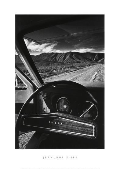 Dodge's Wheel (Death Valley, California, 1977)-Jean-Loup Sieff-Art Print