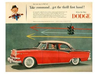 Dodge - Take Command--Art Print