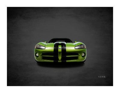 Dodge Viper Green-Mark Rogan-Giclee Print