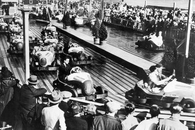 Dodgem Car Track--Photographic Print