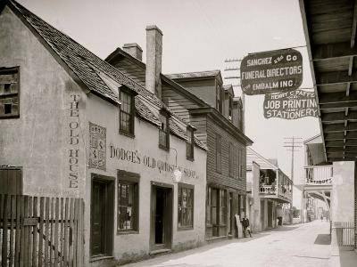 Dodges Old Curiosity Shop, St. George Street, St. Augustine, Fla.--Photo
