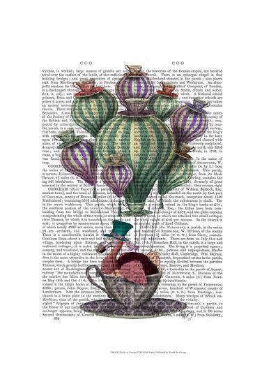 Dodo in Teacup-Fab Funky-Art Print