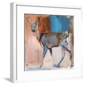 Doe a Deer, 2014,-Mark Adlington-Framed Giclee Print