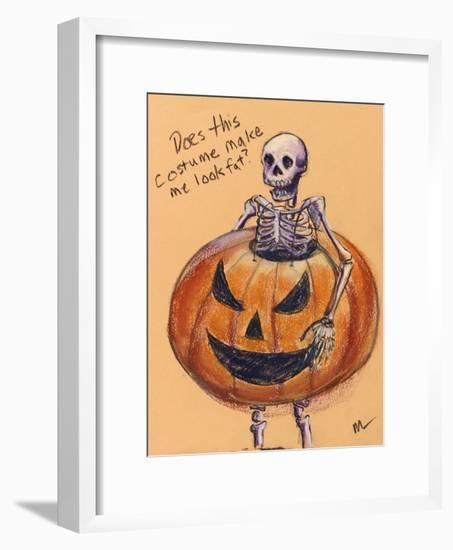 Does this costume make me look fat?-Marie Marfia-Framed Giclee Print
