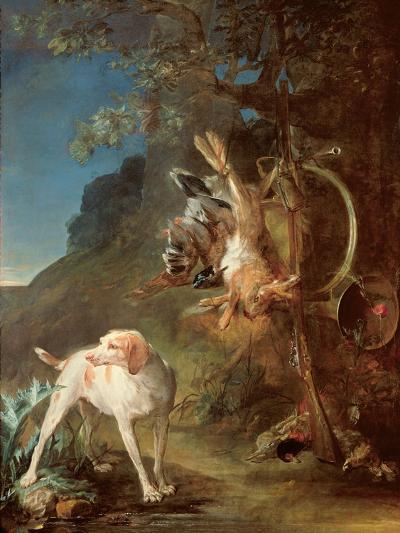 Dog and Game, 1730-Jean-Baptiste Simeon Chardin-Giclee Print