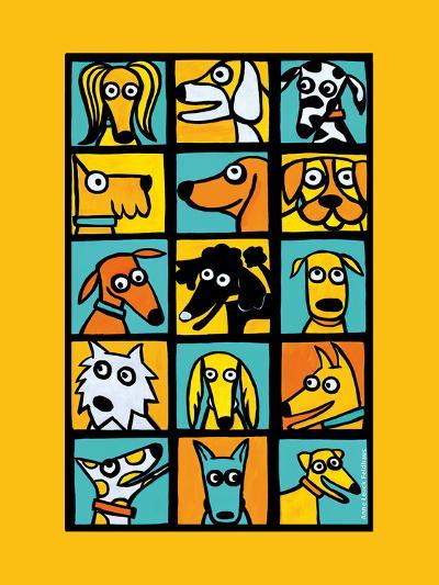 Dog Composite-Anne Leuck Feldhaus-Giclee Print