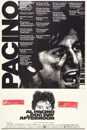 Dog Day Afternoon Pacino Classic Vintage Large Movie Poster Art Print A0 A1 A2